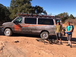 Raptor Route • Falcon flow •  Moab Utah • Hazard County Shuttle