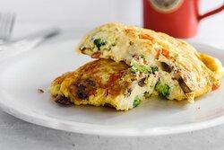 Fresh Vegetarian Omelette
