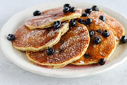 Blueberry Pancakes / Full Stack