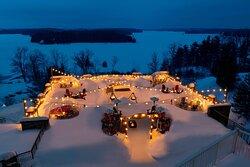 Muskoka Ice Caves - Winter Dining