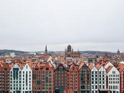 Deo Plaza Architecture on Wyspa Spichrzów in Gdańsk