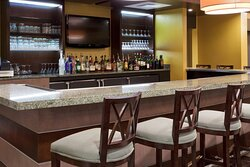 Enjoy a cocktail or glass of wine at our hotel lounge.
