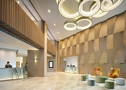 Lobby at The Harbourview
