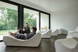 Zona relax/lettura interna con connessione Wi-fi