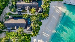 OZEN RESERVE BOLIFUSHI - Earth Pool Villa - Aerial