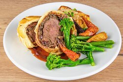 Beef Wellington – available on special occasions such as Mother's Day and Easter