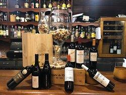 Carta muy amplia de vinos