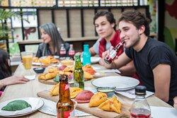 Su casa de empanadas horneadas en Bogota