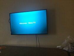 No servia la tv . No pudieron programarla