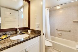 Suite One King Two Double Bathroom