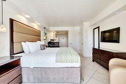 Oceanfront King Bedroom