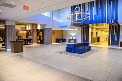 Enjoy the modern feel of our remodeled lobby