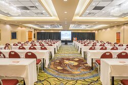 This is one Salon and one third of our Grand Ballroom