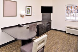 Work area in King Studio Suite.