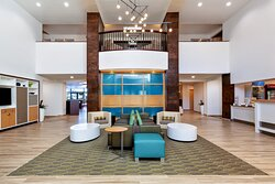 Welcome Home- Our inviting lobby and staff make it feel like home