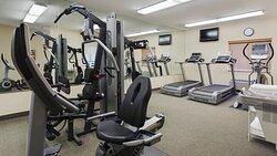 Elliptical trainer, treadmills, weight machine and more!