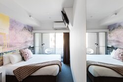 Majestic Minima Hotel Art Room #106 'Cityscape'