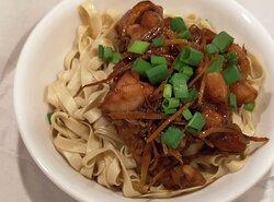 Ginger Chicken Flat Noodle