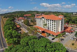 View of Hotel in Panama, the Hotel Holiday Inn Panama Canal