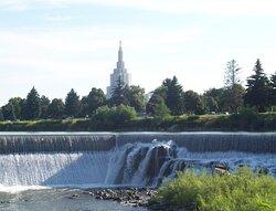 Idaho Falls Temple and Greenbelt