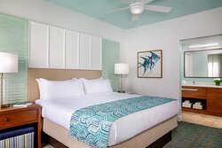 One & Two-Bedroom Villa - Master Bedroom