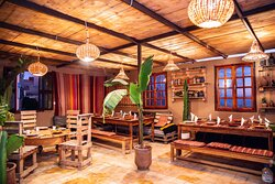 Our cosy and lovely dining area - Pro Surf Morocco - Surf & yoga camp
