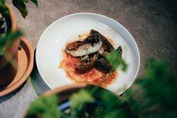 Natural Kitchen The Green Room - ontbijt, lunch, diner - a la carte, groentenrestaurant - vlees & vis als side dish - open keuken - feeding instead of filling