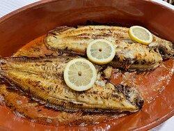 Peixe do mar - Linguado grelhado