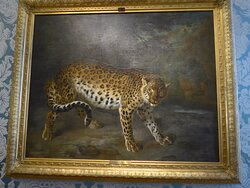 Ludwigslust Palace, Leopard by Jean-Baptiste Oudry
