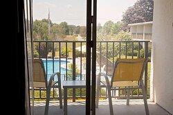 Poolside Balcony