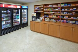 Candlewood Cupboard free coffee, snacks & beverages for purchase