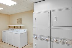 Complimentary Guest Laundry - no quarters required!
