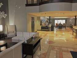 Wait comfortably in our spacious lobby!