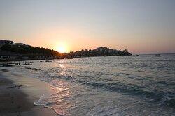Balyek Sitesinde yer alan otelimizin site ile ortak kullandığı iskele ve sahili.
