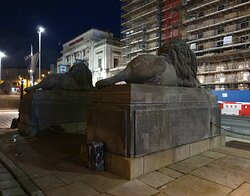 Lion Statue's on St George's Place