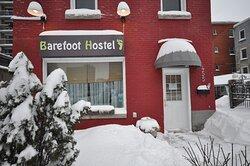 Barefoot Hostel Entrance