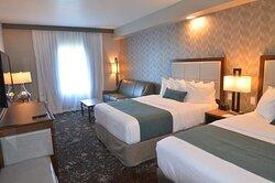 Double Queen Guest Room with Sleeper Sofa