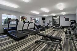 Take advantage of our on-site Fitness Center offering free weights