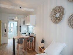 Appartement charmant, cuisine tout équipée