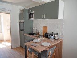Appartement cocon, cuisine équipée