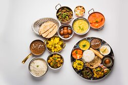 Traditional Indian Lunch
