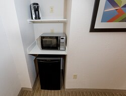 Refreshment Area for you convenience all rooms have micro/fridge