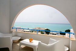 View from the veranda of a two bedroom luxury apartment-Z17.