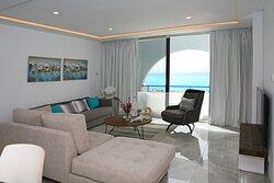 Living room-Z17-luxury apartment