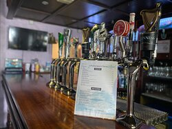 We offer a Selection of Draught Beer & Cider on Tap.