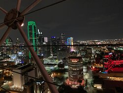 Reunion Tower Geo-Deck - Great View of Dallas