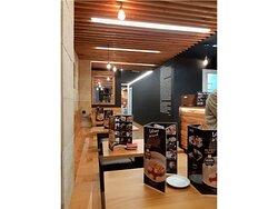 Fotos interior restaurante Letras de Laurel