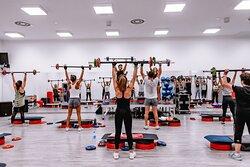 Les mills BodyPump gym Bfit Ibiza Sports Club
