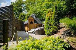 Suite mit Sauna im Wald in Bayern