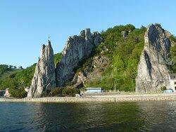 Rocher Bayard (Bayard-klippan) i Dinant